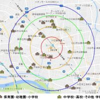 西川口周辺 学校MAP