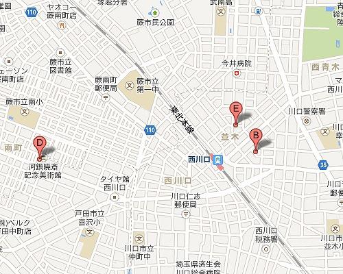 西川口 駅の ダンススタジオ