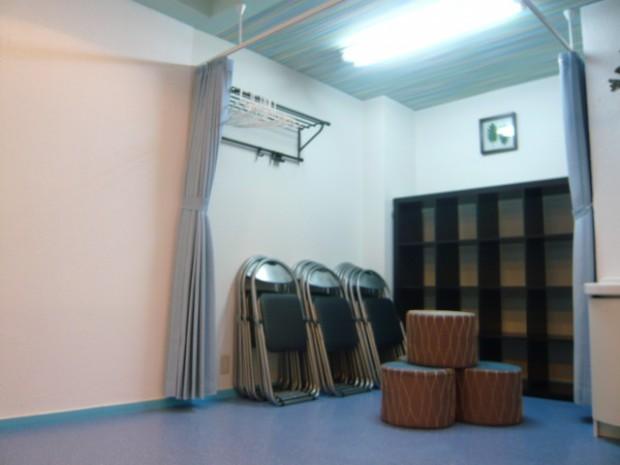 西川口レンタルスタジオの様子 更衣スペース
